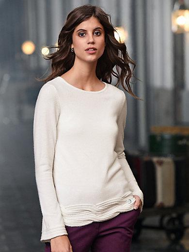 Laura Biagiotti Donna - Rundhalsad tröja i 100% kashmir