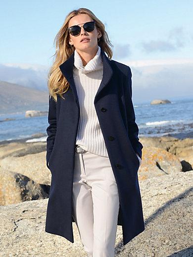 Laura Biagiotti Donna - Strikbluse i 100% kashmir