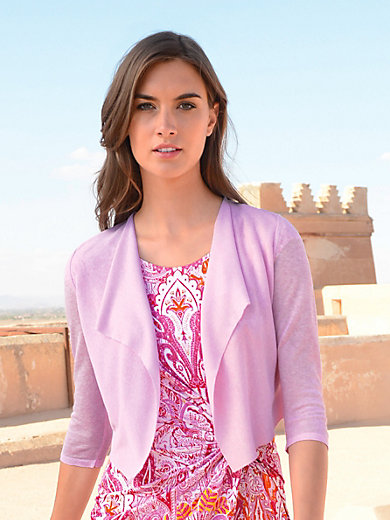 Laurèl - Cardigan with 3/4-length sleeves