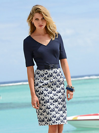 Laurèl - Dress with 1/2-length sleeves