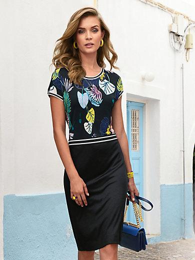 Laurèl - Jersey dress with drop shoulders