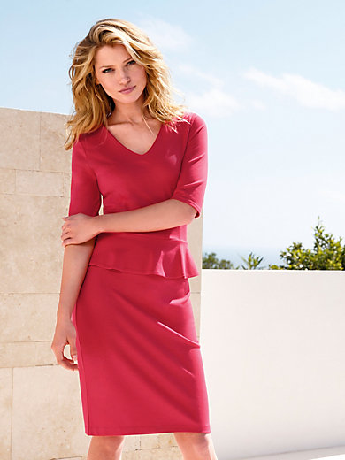 Laurèl - Jersey-Kleid mit 3/4 Arm