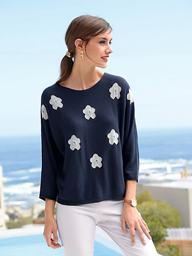 Laurèl - Jumper with 3/4-length batwing sleeves