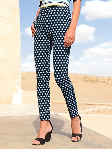 Laurèl - Le pantalon stretch à pois, ligne super slim