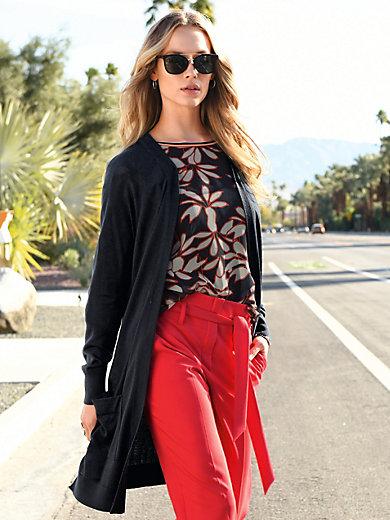 Laurèl - Long cardigan with raglan sleeves