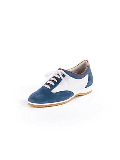Ledoni - Sportiver Sneaker aus edlem Kalbsveloursleder