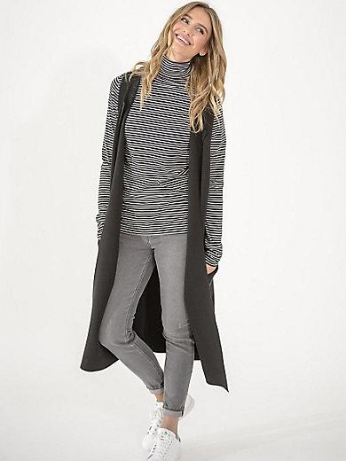LIEBLINGSSTÜCK - Extra-long jersey gilet in a trendy look