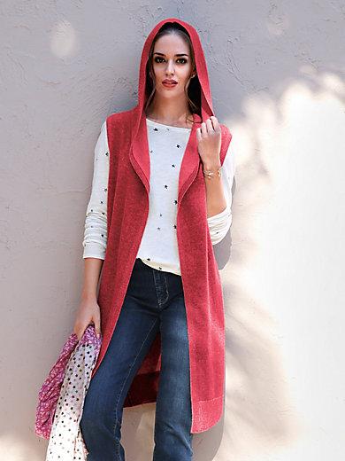 LIEBLINGSSTÜCK - Lang vest van 100% scheerwol