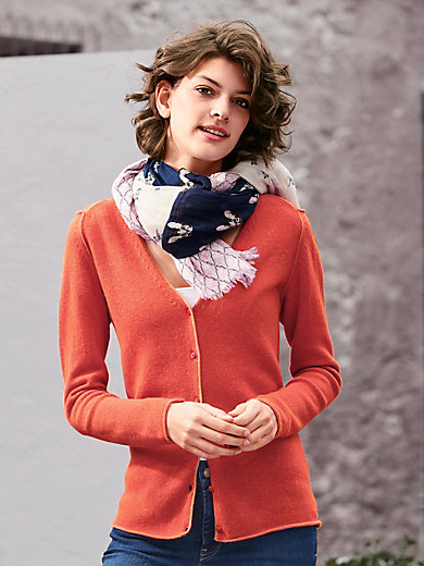 LIEBLINGSSTÜCK - Le gilet en pure laine Mérinos, décolleté V