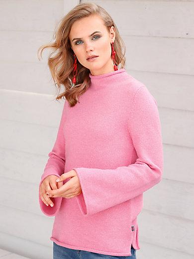 LIEBLINGSSTÜCK - Pullover mit Stehbundkragen