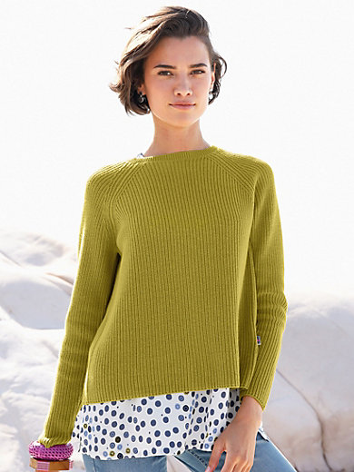LIEBLINGSSTÜCK - Round neck jumper with raglan sleeves