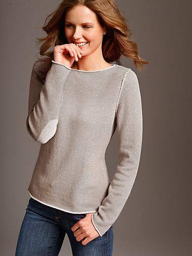LIEBLINGSSTÜCK - Strikbluse i 100% ren ny uld