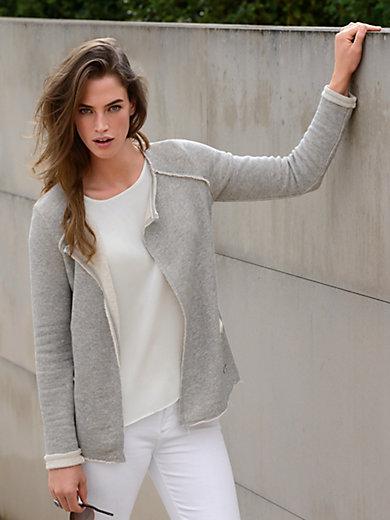 LIEBLINGSSTÜCK - Sweatjacke aus 100% Baumwolle