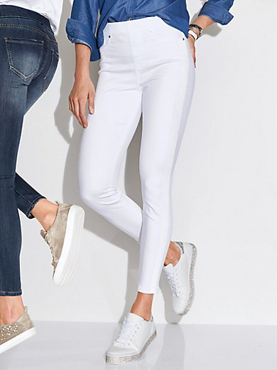 LIVERPOOL - 7/8-length pull-on jeans design CHLOE ANKLE SKINNY