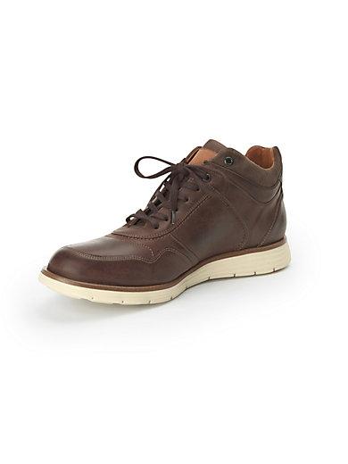 """Lloyd - Les sneakers montants """"Varberg"""" en cuir nappa"""