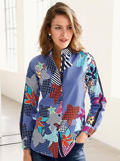 Looxent - Bluse mit kleinem Stehkragen