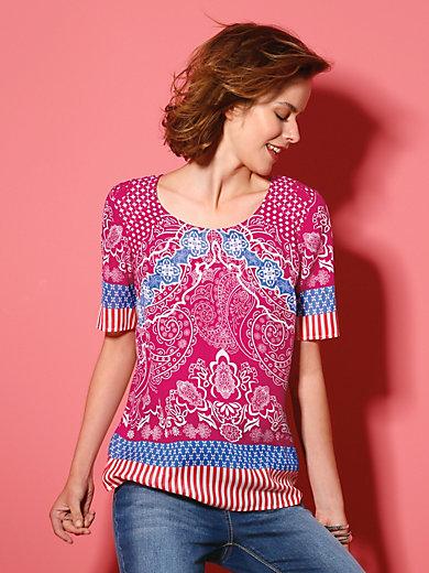 Looxent - Blusen-Shirt mit 1/2 Arm und leicht tailliert