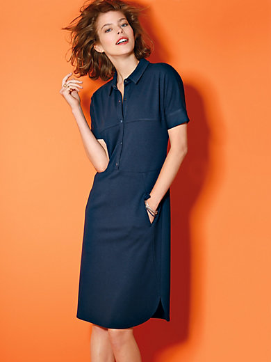 Looxent - Dress with short sleeves