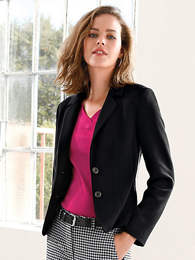 Looxent - Jersey-Blazer mit Reverskragen