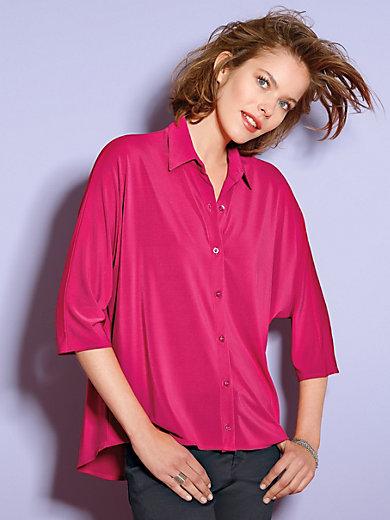 Looxent - Jersey-Bluse mit überschnittenem 3/4-Arm