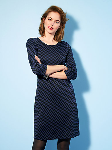 Looxent - Jersey dress with 3/4-length sleeves