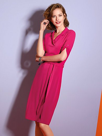 Looxent - Jersey dress with short sleeves