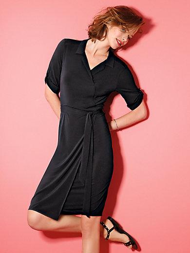 Looxent - Jersey-Kleid mit 1/2 Arm und Wickel-Optik