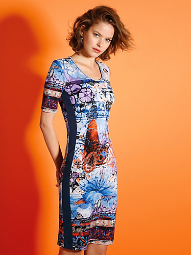 Looxent - Jersey-Kleid mit figurschmeichelnden Einsätzen