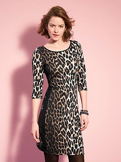 Looxent - Jersey-Kleid mit spektakulärem Leo-Print