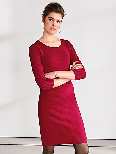 Looxent - Knitted dress with 3/4-length sleeves