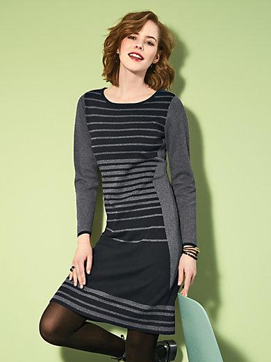 Looxent - La robe à rayures en maille