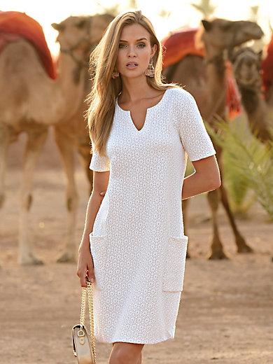 Looxent - La robe en jersey, ligne droite, manches courtes