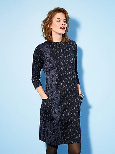 Looxent - La robe en jersey, manches 3/4 et poches
