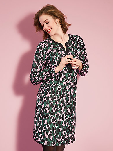 Looxent - La robe imprimée, ligne chemise