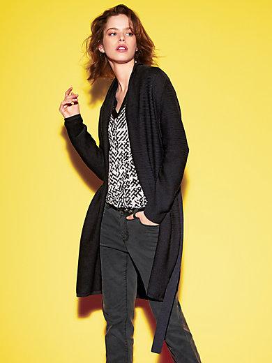 Looxent - La veste longue en maille