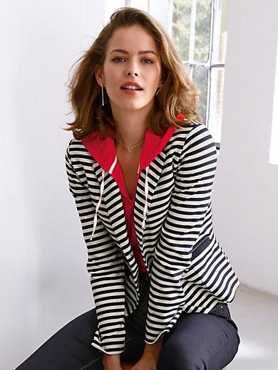 Looxent - Le blazer rayé en jersey, col tailleur