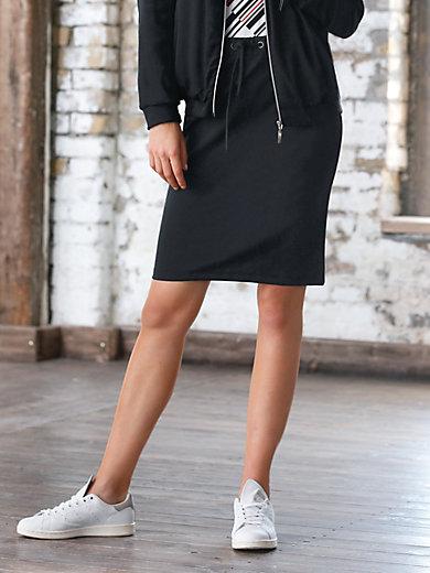 Looxent - Le jupe en jersey, ligne droite