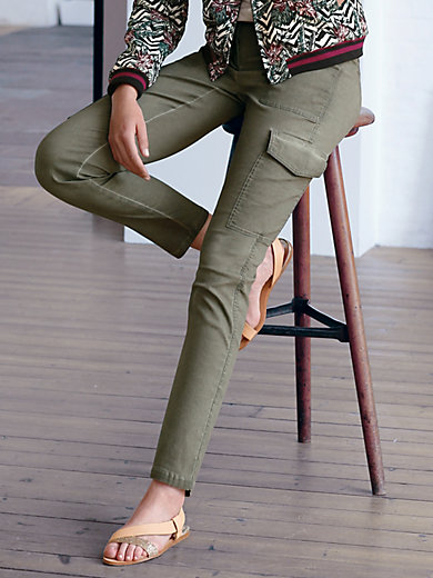 Looxent - Le pantalon cargo Cool Dyed