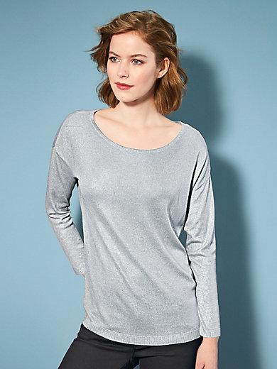 Looxent - Le pull en maille, manches 3/4, épaules tombantes