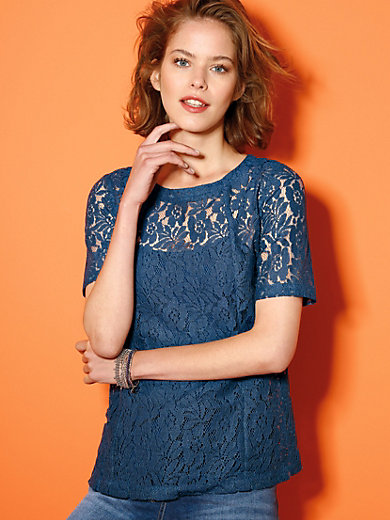 Looxent - Le T-shirt-chemisier manches courtes