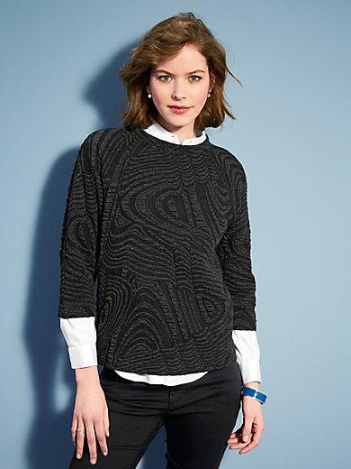 Looxent - Le T-shirt en jersey, manches 3/4 raglan