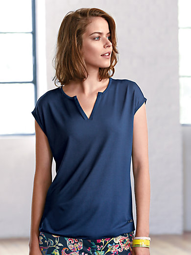 Looxent - Le T-shirt, épaules tombantes, col V