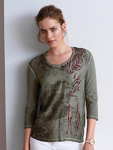 Looxent - Le T-shirt imprimé en jersey, manches 3/4