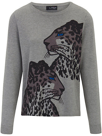 Looxent - Pullover mit Leoparden-Print
