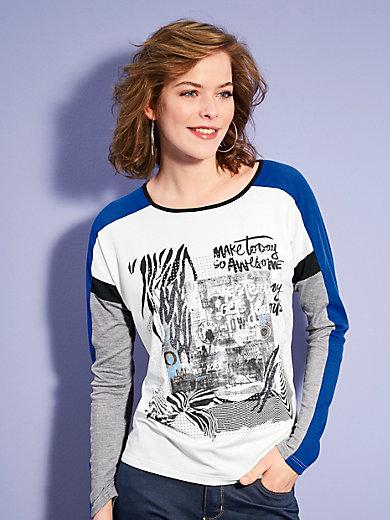 Looxent - Rundhals-Shirt mit 1/1 Arm