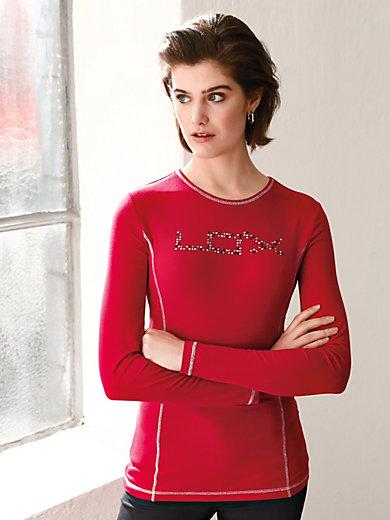 Looxent - Rundhals-Shirt mit 1/1-Arm