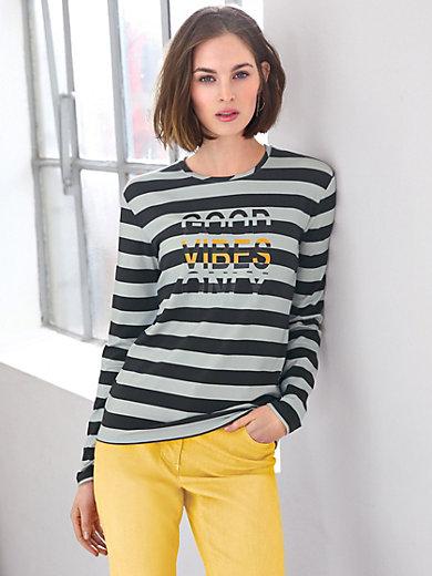 Looxent - Rundhals-Shirt mit coolem Wording
