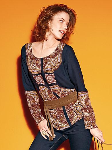 Looxent - Schlupf-Bluse mit 1/1-Arm
