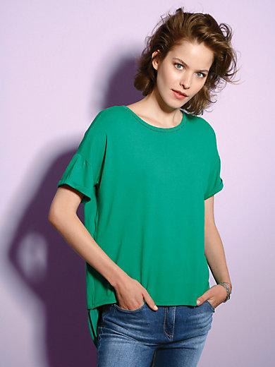 Looxent - Shirt met ronde hals en korte mouwen