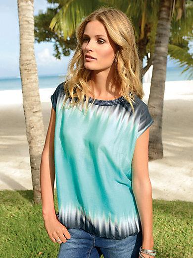 Looxent - Shirt mit 1/2-Arm und Dekgradé-Farbverlauf